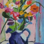 Sukie Curtis-Flower Piece (after Matisse)