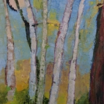 Sukie Curtis-October Birches